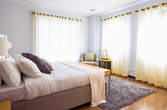bedroom, master bedroom, renovation, Dilamco, montreal general contractor, residential renovation